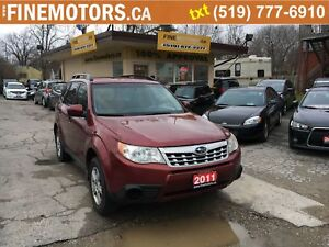 2011 Subaru Forester X Convenience/AWD