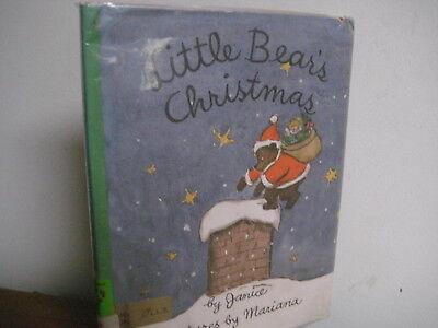 Little Bear's Christmas/ Janice Mariana/ hardback/ jacket/ cute!!/ 1964