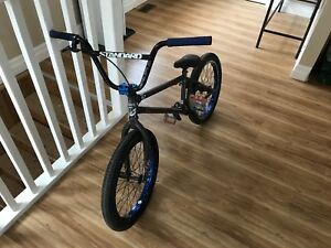 Fit bmx with accessories