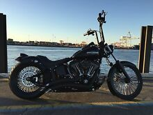 Harley Davidson Custom Softail Full Makeover O'Connor Fremantle Area Preview