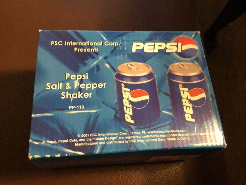 Pepsi Salt & Pepper Shakers 2001
