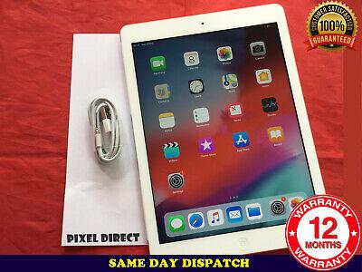 Grade A Apple iPad Air 1st Gen. 16GB, Wi-Fi, 9.7in - Silver iOS 12 - Ref 224