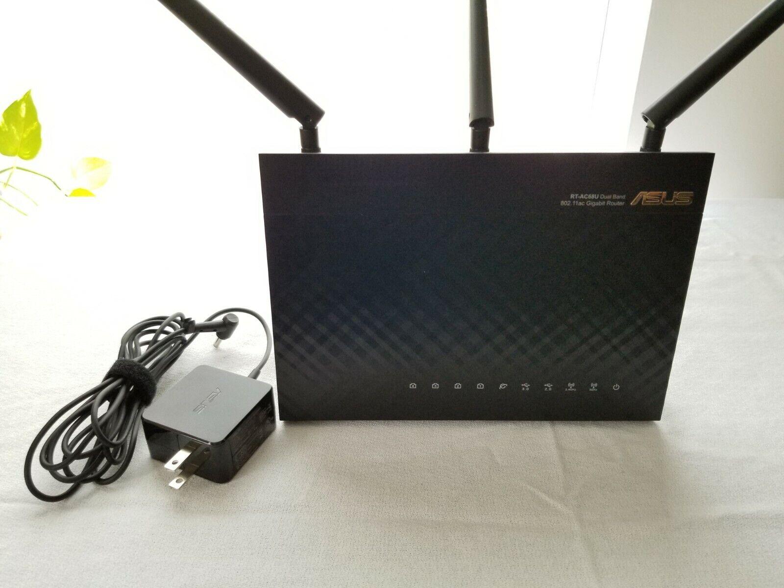 ASUS RT-AC68U AiMesh AC Router - Excellent Condition - $82.00