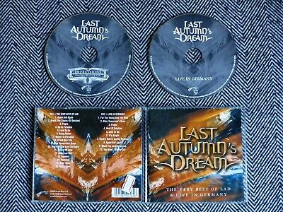 LAST AUTUMN'S DREAM - The very best of lad & live in Germany - CD