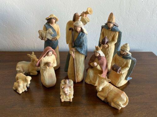 Molded Carved Nativity
