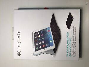 iPad Mini Logitech Keyboard, Barely Touched, Comes with box