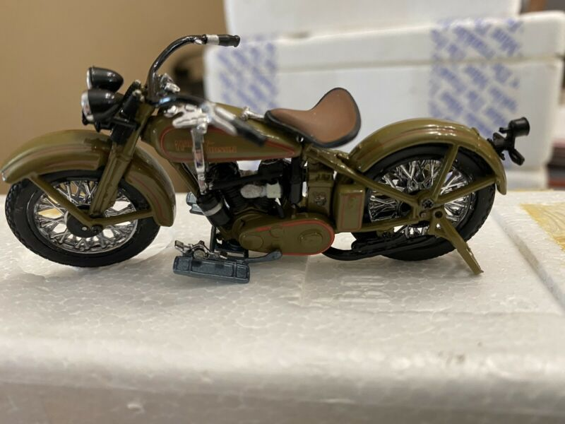 FRANKLIN MINT HARLEY DAVIDSON 1929 SIDE VALVE TWIN DIECAST 1:24 SCALE #B11WC28