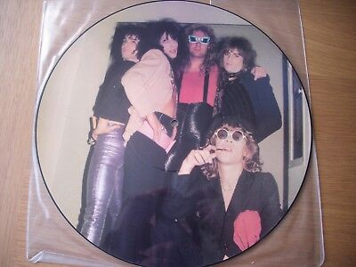 """new york dolls looking for a kiss with johnny thunders 12"""" vinyl picture disc"""