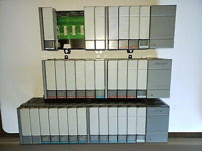 Allen Bradley Slc 500 Plc 3 Rack Lot