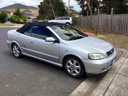 Holden Astra Convertible TS 2003 Limited Edition Bertone Auto 2.2L