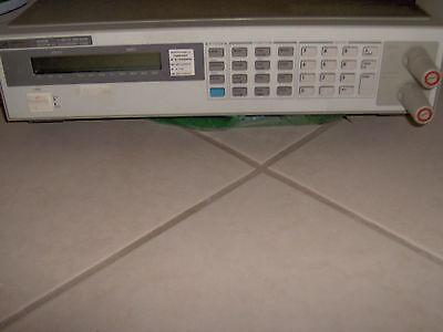 Hp Agilent 6060b Dc Electronic Load 3-60v 0-60a 300w