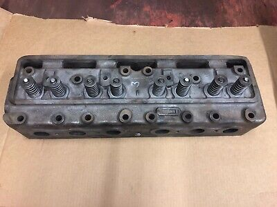 Case 1947 Sc Engine Head Part 5618a Used With Valves