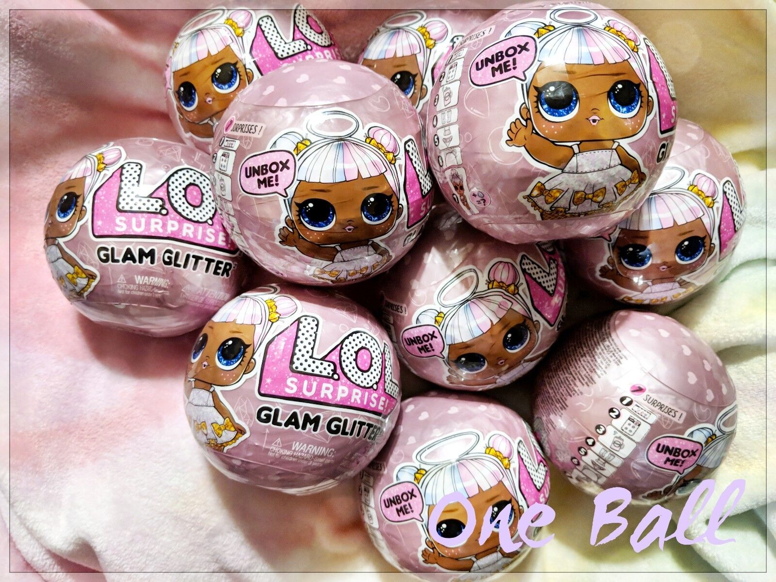 Купить L.O.L. Surprise! - LOL Surprise GLAM GLITTER Doll - 7 Surprises in 1 Glitter Series 2 Authentic MGA