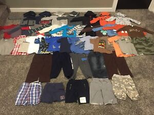Huge lot of boys size 4T clothes