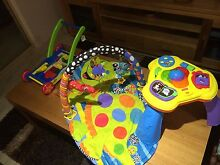 Baby kids toys fisher price play grow mat and wooden push along Kingsley Joondalup Area Preview