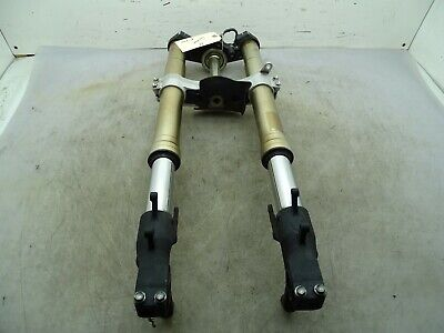 08 SUZUKI GSXR 600 FRONT FORK AND TRIPLE TREES E-1791
