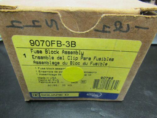 SCHNEIDER FUSE BLOCK ASSEMBLY 9070FB-3B