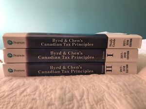 Canadian Tax Principles Textbooks