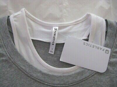 Fabletics Tasha Gray Activewear Mini Dress Size Small 4/6 NWT