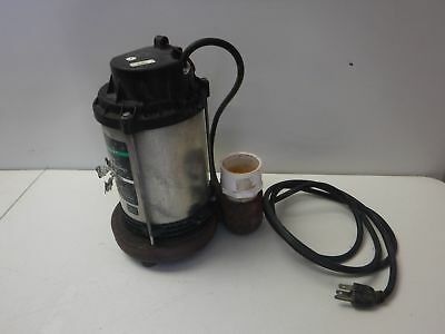 Used Wayne Pro Series Switch Genius Cducap995 Sump Pump 34 Hp 1-34