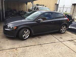 wrecking Volvo C30 2009 2.4 manual,black St Marys Penrith Area Preview