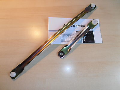 Saab 9 3 all models 2003 2011 Wiper Motor Linkage Push Rod Kit Sameday Dis