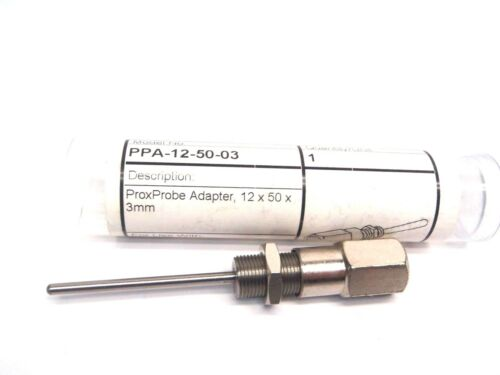 Softnoze PPA-12-50-03 ProxProbe Adapter 12x50x 3mm for M12x1 Sensors