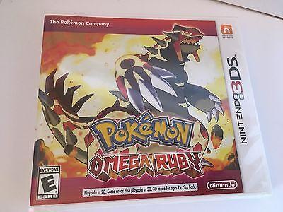 Pokemon Omega Ruby for Nintendo 3DS BRAND NEW FACTORY SEALED GAME