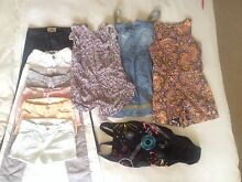 Country Road, Roxy, Billabong bag of girls size 8 clothes Bar Beach Newcastle Area Preview