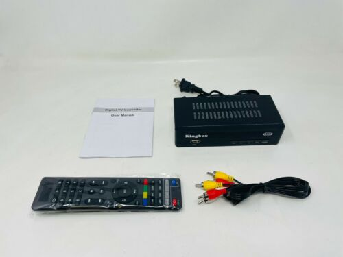 Kingbox Digital TV Convertor Box, 3D Ready