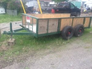 Verry solid trailer asking 1000$ obo