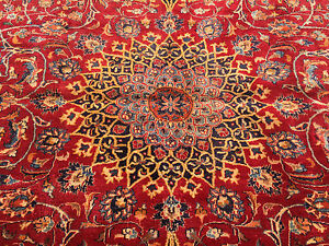 Persian Rug Hand Knotted Ebay