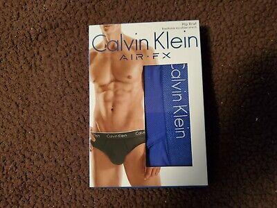 New Calvin Klein Air FX Men Hip Brief Slip Breathable Micro  Fiber Medium