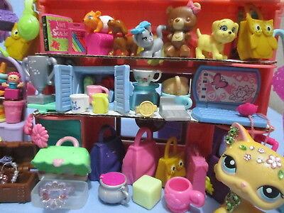 Littlest Pet Shop Lot 15 Random Department Store LPS Accessories BUY3 GET 1 (15 Littlest Pet Shop)