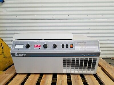 Beckman Allegra 6r Refrigerated Benchtop Centrifuge 366816 With Rotor