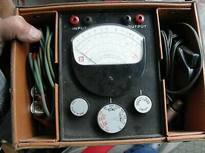 Vtg Honeywell Systems Tester In Case W720b1011 Accessories Clean Inside