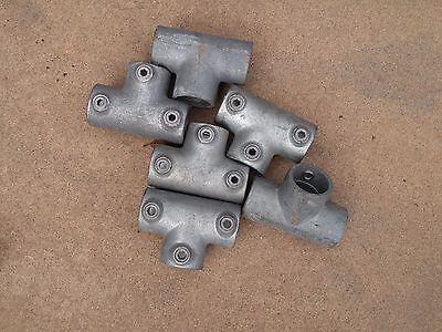KEE KLAMP 25-7 3 Socket T galvanized steel used $7.00 each