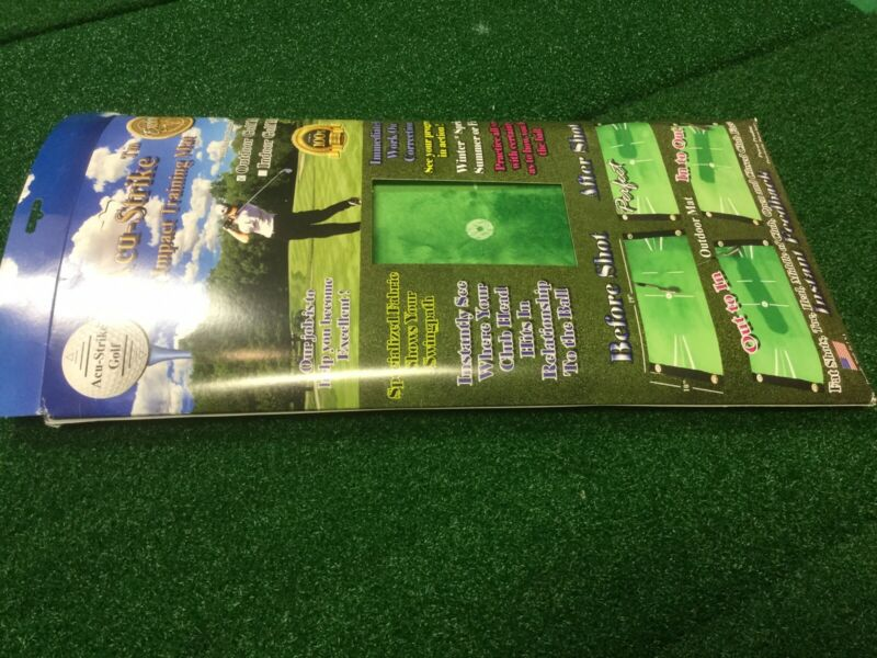 New Acu-Strike Golf Impact Training Mat Indoor Golf Mat
