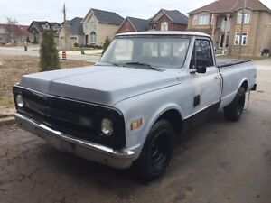 1970 C10 CHEVROLET LONG BOX PROJECT TRUCK {MUST GO THIS WEEK}PPU