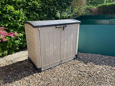 Keter Plastic Store It Out Ultra Garden Storage Tool Shed