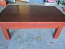 SOLID TIMBER COFFEE TABLE EARLY SETTLERS COFFEE TABLE Naremburn Willoughby Area Preview