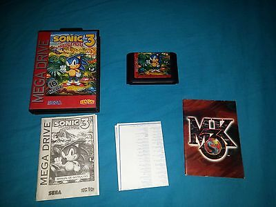 Sonic the Hedgehog 3  Mega Drive Genesis Brazil Rare Edition