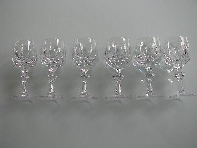 6 Südwein Portwein Gläser Nachtmann Alexandra 13 cm Vintage Blei Kristallglas ()