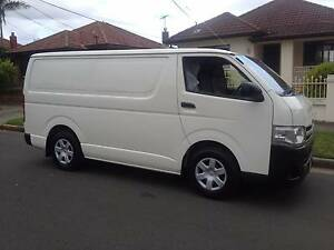 Toyota Hiace LWB 2010 Automatic Turbo Diesel, Ex fleet,76,325 kms Lidcombe Auburn Area Preview