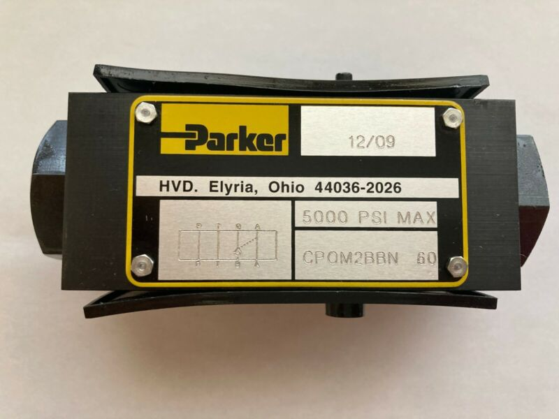 Parker Pilot Operated Check Valve P/N: CPOM2BBN60 -- NEW IN BOX