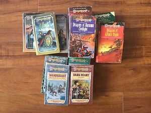 Dragonlance fantasy book lot Westmead Parramatta Area Preview