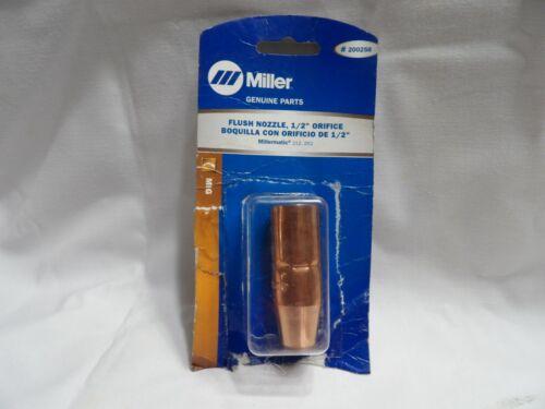"Miller Flush Nozzle 200258 1/2"" Orifice"