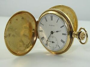 Value of elgin watch by