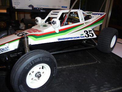 1986 >  oem > RTR   VINTAGE  grasshopper....!!!!, 1:10 TAMIYA, cheap &  SWEET..