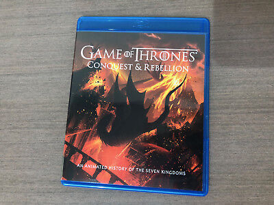 Game Of Thrones  Season 7 Bonus Disc Only Conquest   Rebellion Blu Ray New